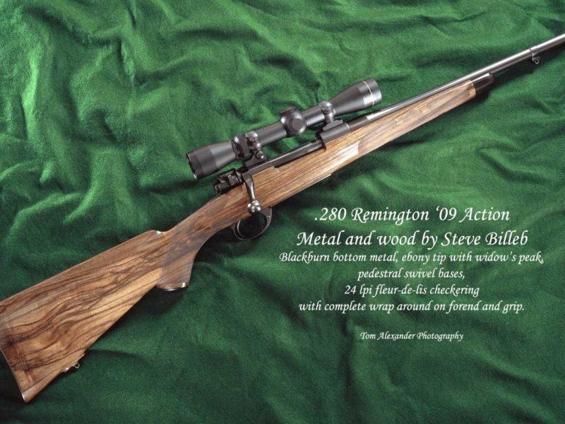 .280 Remington '09 Action custom gun by Steve Billeb