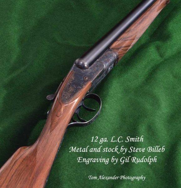 12 ga. L.C. Smith custom shotgun by Steve Billeb